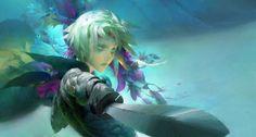 [ Guild Wars ] Illustration by Ruan Jia Guild Wars 2, Fantasy Illustration, Character Illustration, Character Art, Character Design, Portrait Art, Portraits, Fantasy Characters, Female Characters