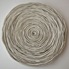 Ceramic layers by Valeria Nascimento.