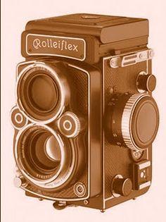 o primeiro namorado fotografava numa rolleiflex