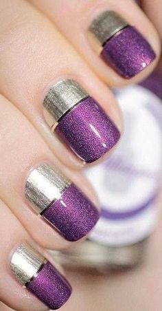 Pure Ice Purple Rain + OPI Shine for Me