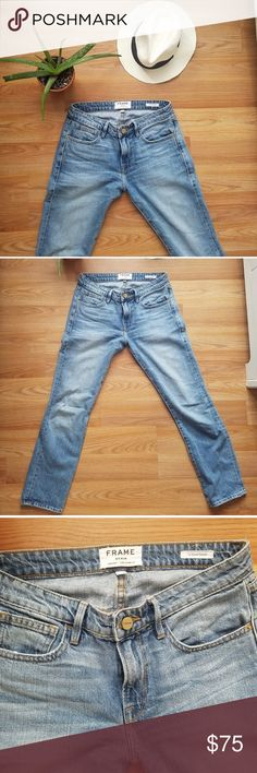 FRAME le Grand Garcon SOLD OUT jeans. Cute fit Frame Denim Jeans Straight Leg