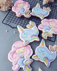 Summer Cookies, Cookies For Kids, Sugar Cookie Icing, Royal Icing Cookies, Gingerbread Icing, Royal Icing Decorations, Cookie Designs, Cookie Exchange, Childrens Party