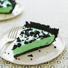 "Harriet's Grasshopper Pie from ""Moms' Best Recipes"""