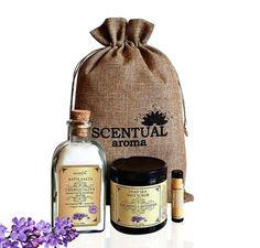 SPA SET Organic Spa Set Bath & Beauty Gift Set by ScentualAroma