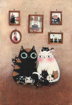 'Le chat de la mère Michel' by     Maddalena Gerli
