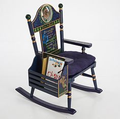 Time to Read Rocking Chair - Boy