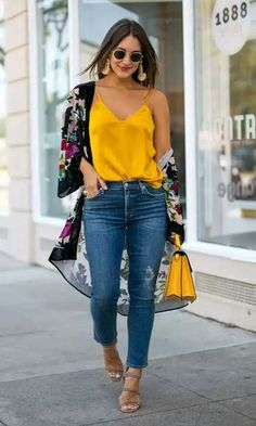 75 classy work outfit ideas for this summer outfits for teens, trendy outfi Mode Outfits, Outfits For Teens, Trendy Outfits, Denim Outfits, Winter Outfits, Outfits With Kimonos, Summer Outfits For Work, Friday Outfit For Work, Spring Outfits Women