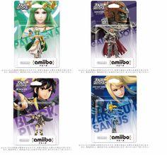 NEW amiibo Dark Pit & Palutena & Zero Suit Samus & Ganondorf set Japan ver FS #Nintendo