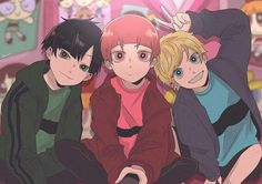 the rowdyruff boys Cartoon As Anime, M Anime, Cartoon Shows, Girl Cartoon, Cartoon Art, Anime Guys, Power Puff Girls Z, Power Girl, Art Sonic