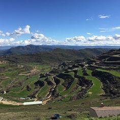 Vistas desde Ujué... paisajes infinitos en #Navarra (By @david_gp_ #Instagram)