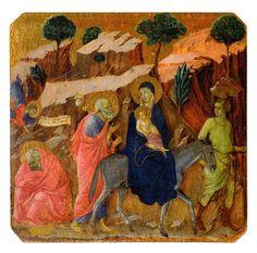 Duccio di Boninsegna Sogno di Giuseppe e fuga in Egitto dalla Maestà del Duomo di Siena