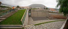 los silos youth centre by lavin arquitectos. SPAIN.