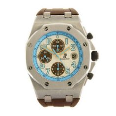 AUDEMARS PIGUET - a limited edition gentleman's Royal Oak Offshore Montauk Highway wrist watch.
