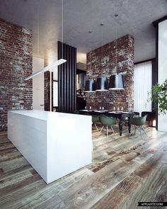 Emerald Penthouse Concept | Sergey Makhno Workshop