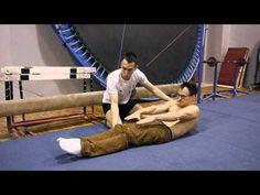 (2) Jak zrobić sylwetkę w leżeniu tyłem cz.1 /How to do Hollow Body - YouTube
