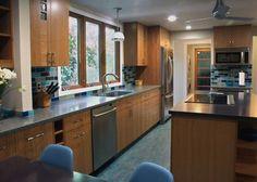 ECOblue kitchen---linoleum
