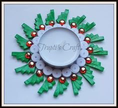 Trupti's Craft: Multipurpose Paper Quilling Candle Holder / Orname...