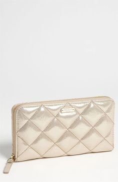 kate spade new york 'gold coast - lacey' zip around wallet available at #Nordstrom