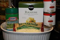 Weight Watchers 305 calorie Baked Rigatoni! So easy and quick to make! And very yummy!