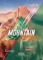 Hispter Psd Flyer Template / Mountain by RomeCreation Club Poster, Psd Flyer Templates, Mountain, Deviantart, Explore, Artwork, Work Of Art, Auguste Rodin Artwork, Artworks