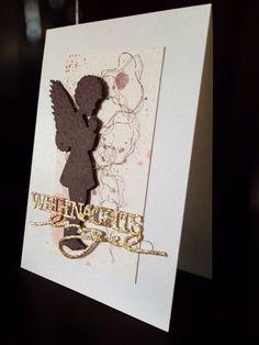 Card Creations by Ellis van Veenendaal: Weihnachtsengel - die Zweite...