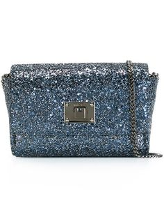 JIMMY CHOO 'Ruby' Crossbody Bag. #jimmychoo #bags #shoulder bags #leather #pvc #glitter #crossbody #
