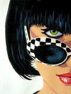 Julies retro Art