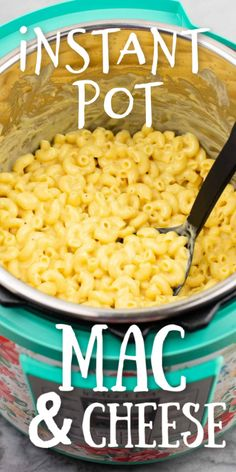 Free up important oven and stovetop space this Thanksgiving and make this INSTANT POT mac and cheese recipe! So easy, super creamy and delicious and everyone loves it, I won't make it any other way now! pot recipe mac and cheese Instant Pot Mac & Cheese Instant Pot Mac And Cheese Recipe, Easy Mac And Cheese, Best Instant Pot Recipe, Instant Recipes, Instant Pot Dinner Recipes, Noodles Mac And Cheese Recipe, Gluten Free Mac And Cheese, Mac Cheese Recipes, Dinner For One