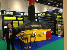 Exhibition Stand: Stand designed, built and installed for Skip Safe at the 2014 Safety & Health Expo, at ExCel London www.ddex.co.uk