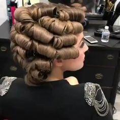 Perfect wedding look 👰 hairstyles hair hairart hairbrained hairdo - Her Croch. - - Perfect wedding look 👰 hairstyles hair hairart hairbrained hairdo - Her Crochet Hollywood Hair, Hollywood Waves, Curly Hair Styles, Natural Hair Styles, Hair Upstyles, Hair Videos, Up Hairstyles, Wedding Hairstyles, Wavy Hair