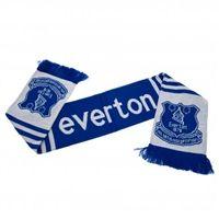 Everton FC Blue /& White Stripes Scarf