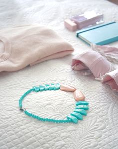 beautiful collection of lovely pastel pieces.  love the necklace a lot.  couple other color variations.  all totally cute.