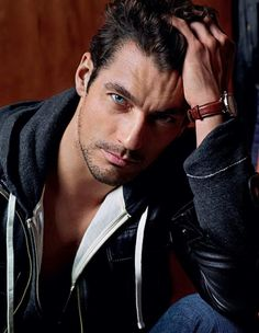 David Gandy, his eyes are amazing. He could definitely be Gideon Cross.