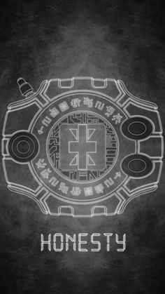Digivice - The Crest of Honesty / Reliability