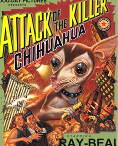 Attack of the Killer Chihuahua  Dave McMacken  via Pocko