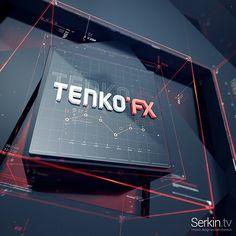 "39 Likes, 1 Comments - SERKIN (@serkintv) on Instagram: ""#Tenko #fx #design #graphics"""