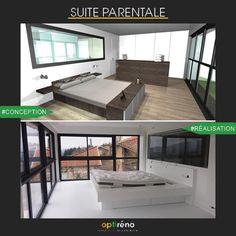 Conception projet vue 3d belle salle de bains privative for Conception 3d chambre