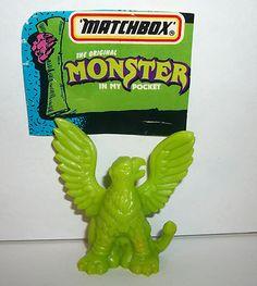 "Matchbox ""Monster in My Pocket"" griffin toy/figure. (eBay)"