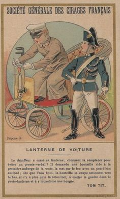 La lanterna della vettura, 1890-1905