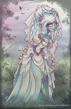 Ghost Bride by NoFlutter on DeviantArt