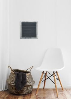 Add a warm touch to your home Felt Letter Board, Message Board, Wall Hooks, Home Accents, Touch, Rustic, Warm, Chair, Furniture