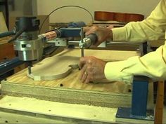 Duplicating a Violin Plate with the Gemini Wood Carver - YouTube
