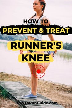 Runner's knee plagues many runners worldwide, but have you ever wondered how to prevent and treat it if it's happening to you? Find out the best approaches to kick runner's knee to the curb and get back to running pain-free. Stretches For Knees, Stretches For Runners, Running Plan, Running Tips, Runners Knee Pain, Proper Running Form, Running Injuries, Natural Pain Relief, Half Marathon Training