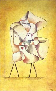 """Siblings"", by Paul Klee (1930)"