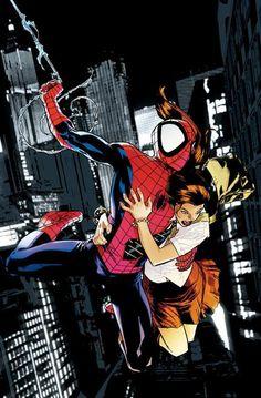 Ultimate Spiderman by Stuart Immonen