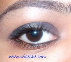 Loreal make up with loreal kohl(product review, swatches and pictures)