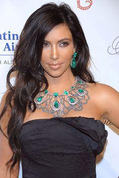 Kim Kardashian - love this look