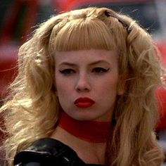 Traci Lords. From Cry Baby. ~ hair, makeup, perfection
