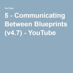 14 best unreal engine 4 blueprint images on pinterest unreal in this video youll learn how to get a level blueprint and a class blueprint to communicate in creating a new blueprint class crea malvernweather Image collections