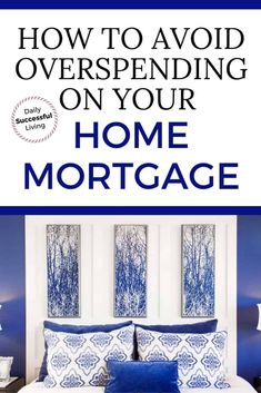 Thinking about purchasing a home? Overspending on a house will destroy your budget and financial future. Your home mortgage should be less then the amount your bank lender approves. Don't be house rich and cash poor. | Cost of Mortgage | How much house can you afford | Mortgage interest rates | Home Buying Power | Home Mortgage Finance | #homepurchasetips #mortgagetips